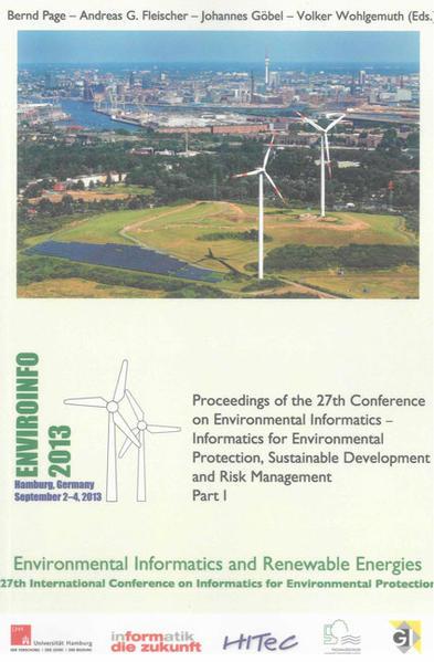 EnviroInfo 2013 - Coverbild