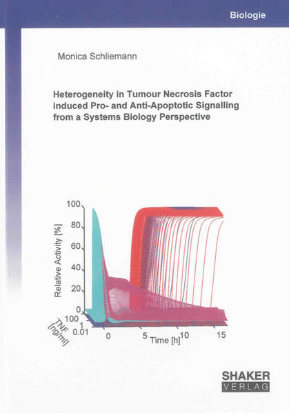 Heterogeneity in Tumour Necrosis Factor induced Pro- and Anti-Apoptotic Signalling from a Systems Biology Perspective - Coverbild