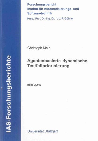 Agentenbasierte dynamische Testfallpriorisierung - Coverbild