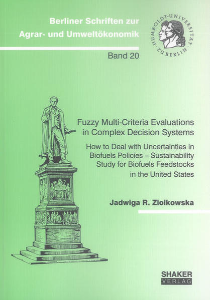 Fuzzy Multi-Criteria Evaluations in Complex Decision Systems - Coverbild