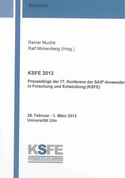 KSFE 2013 - Coverbild