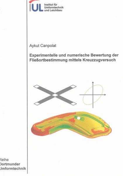 Experimentelle und numerische Bewertung der Fließortbestimmung mittels Kreuzzugversuch - Coverbild
