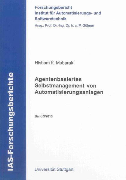 Agentenbasiertes Selbstmanagement von Automatisierungsanlagen - Coverbild