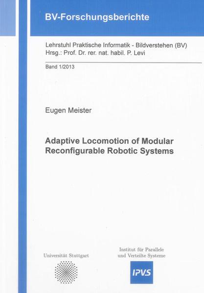 Adaptive Locomotion of Modular Reconfigurable Robotic Systems - Coverbild