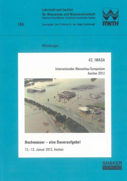 42. IWASA Internationales Wasserbau-Symposium Aachen 2012 - Coverbild