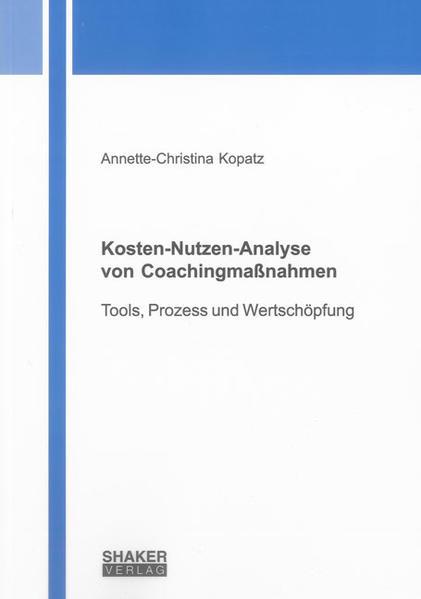 Kosten-Nutzen-Analyse von Coachingmaßnahmen - Coverbild