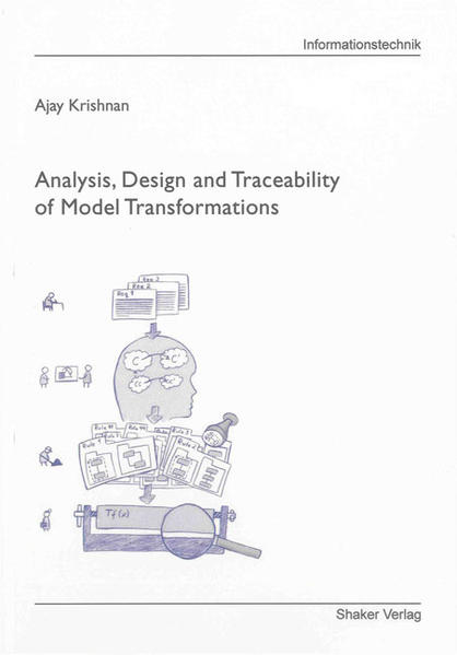 Analysis, Design and Traceability of Model Transformations - Coverbild