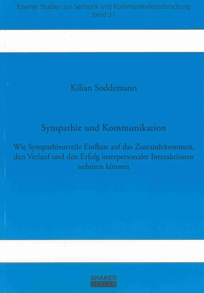 Sympathie und Kommunikation - Coverbild