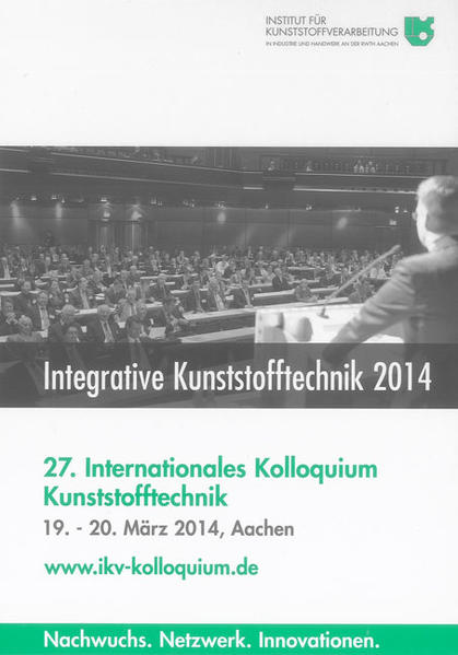 Integrative Kunststofftechnik 2014 - Coverbild