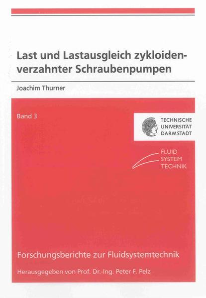 Last und Lastausgleich zykloidenverzahnter Schraubenpumpen - Coverbild