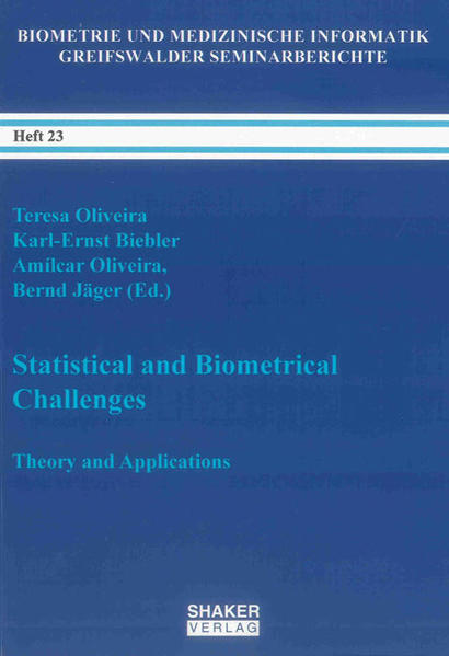 Statistical and Biometrical Challenges - Coverbild