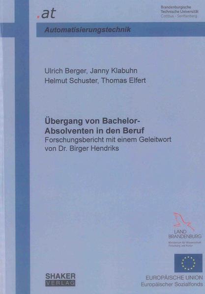 Übergang von Bachelor-Absolventen in den Beruf - Coverbild