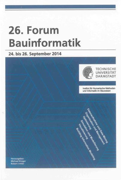 26. Forum Bauinformatik - Coverbild