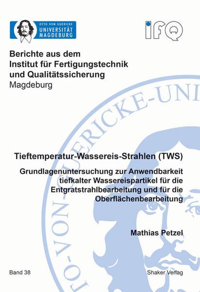 Tieftemperatur-Wassereis-Strahlen (TWS) - Coverbild