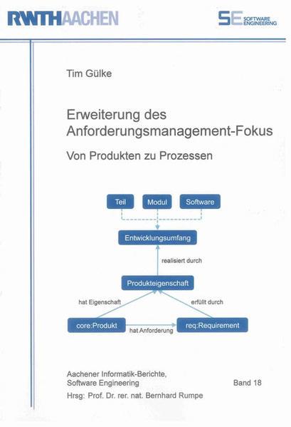 Erweiterung des Anforderungsmanagement-Fokus - Coverbild