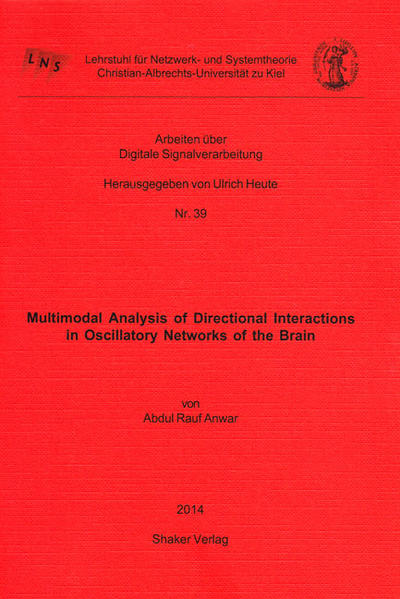 Multimodal Analysis of Directional Interactions in Oscillatory Networks of the Brain - Coverbild