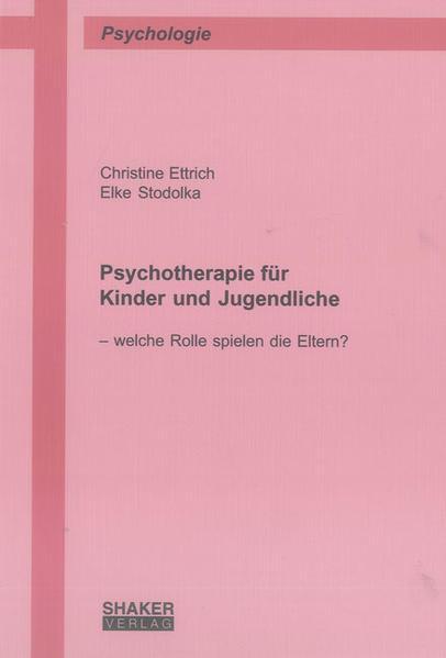 Psychotherapie für Kinder und Jugendliche - Coverbild