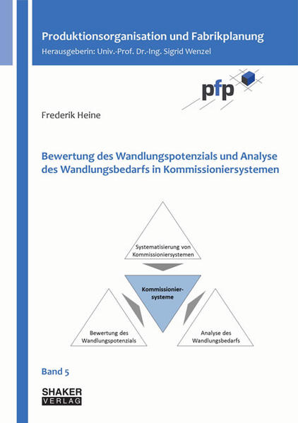 Bewertung des Wandlungspotenzials und Analyse des Wandlungsbedarfs in Kommissioniersystemen - Coverbild