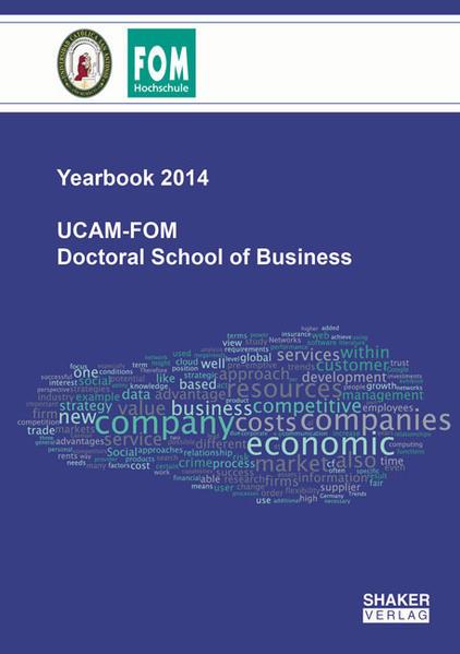 UCAM-FOM Doctoral School of Business - Coverbild