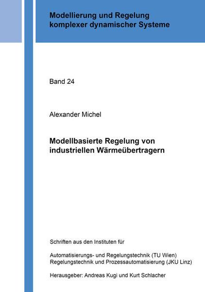 Modellbasierte Regelung von industriellen Wärmeübertragern - Coverbild