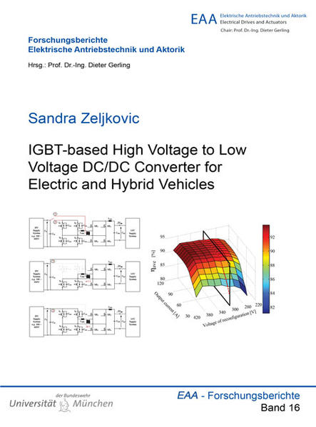 IGBT-based High Voltage to Low Voltage DC/DC Converter for Electric and Hybrid Vehicles - Coverbild