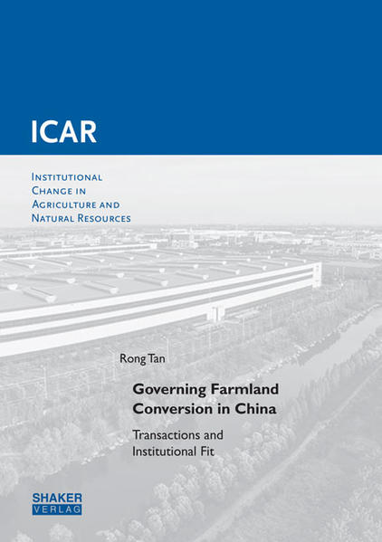 Governing Farmland Conversion in China - Coverbild