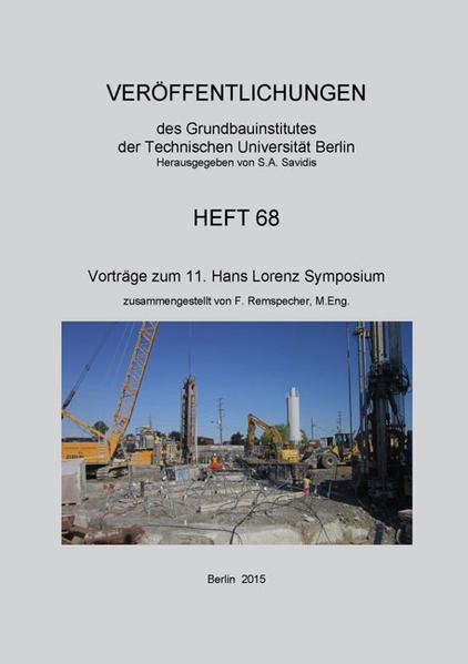 Vorträge zum 11. Hans Lorenz Symposium - Coverbild