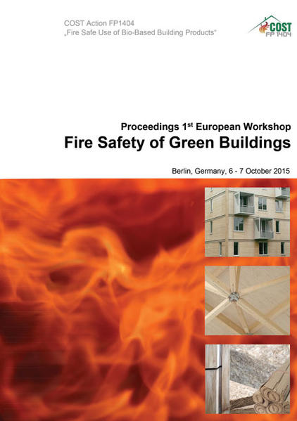 Proceedings of the 1st European Workshop Fire Safety of Green Buildings - Coverbild