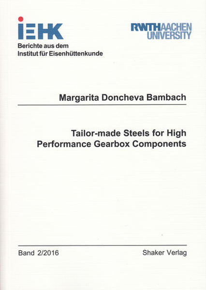 Tailor-made Steels for High Performance Gearbox Components - Coverbild