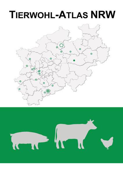Tierwohl-Atlas NRW - Coverbild