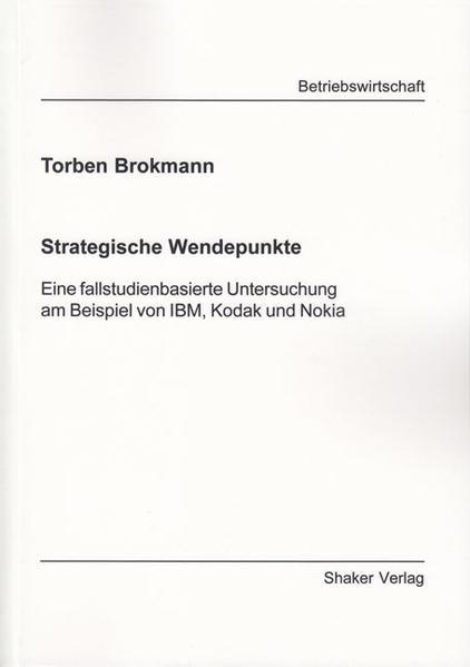 Strategische Wendepunkte - Coverbild