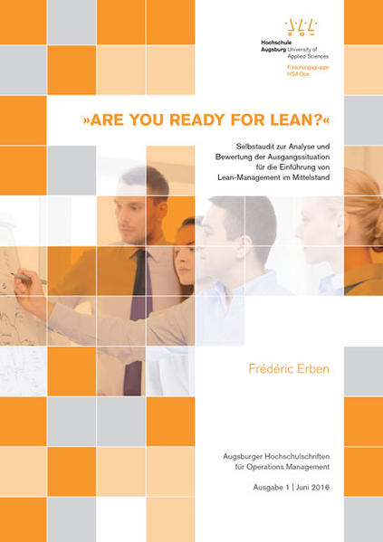 »ARE YOU READY FOR LEAN?« - Coverbild