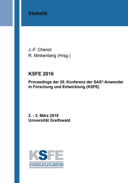 KSFE 2016 - Coverbild