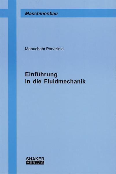 Einführung in die Fluidmechanik - Coverbild