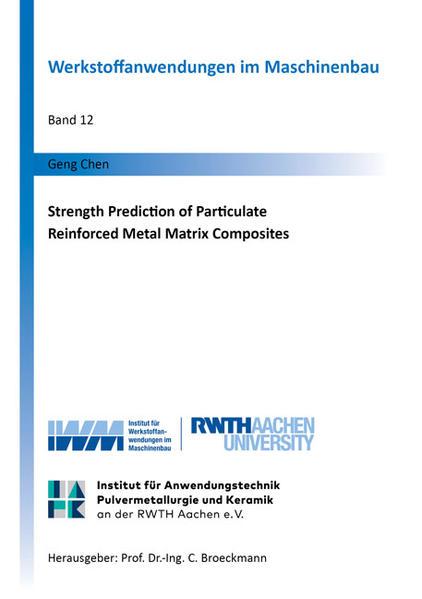 Strength Prediction of Particulate Reinforced Metal Matrix Composites - Coverbild