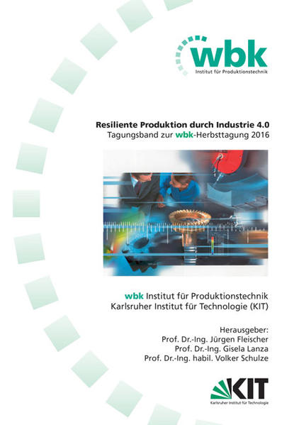 Resiliente Produktion durch Industrie 4.0 - Coverbild