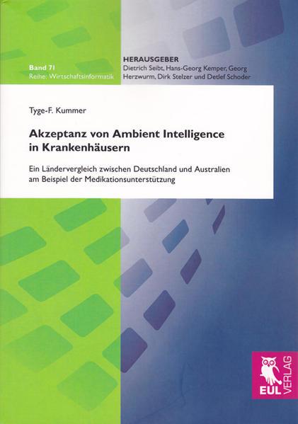 Akzeptanz von Ambient Intelligence in Krankenhäusern - Coverbild
