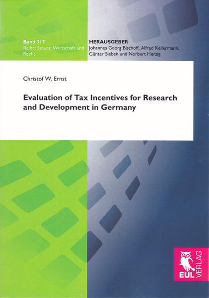 Evaluation of Tax Incentives for Research and Development in Germany - Coverbild
