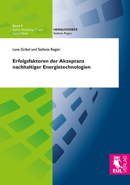 Erfolgsfaktoren der Akzeptanz nachhaltiger Energietechnologien - Coverbild