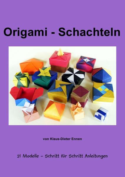 Origami - Schachteln - Coverbild