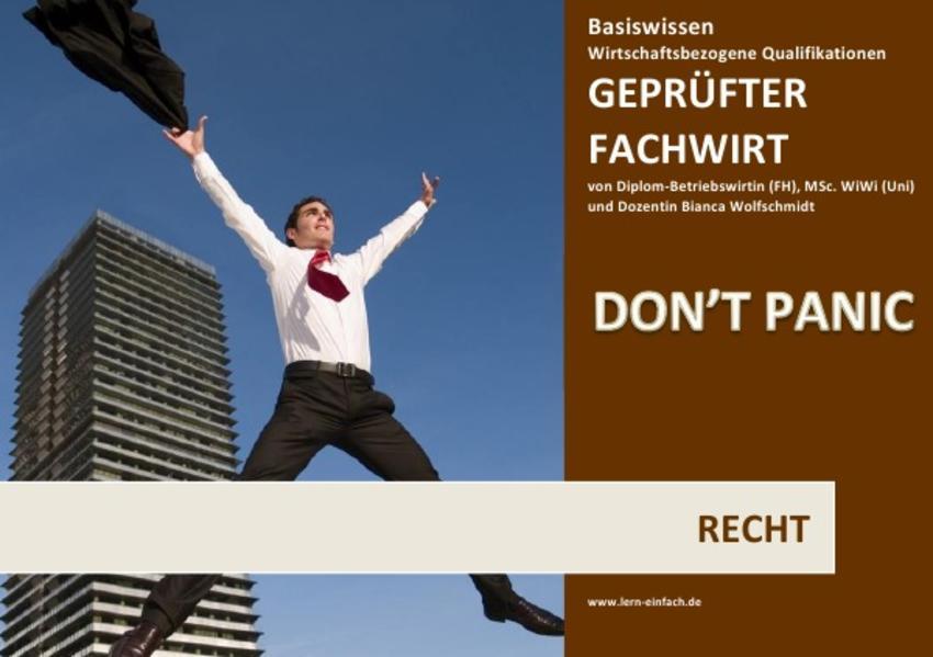 BASISWISSEN - GEPRÜFTER FACHWIRT - WBQ - RECHT - Coverbild