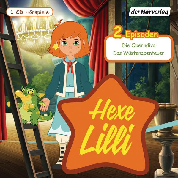Hexe Lilli: Die Operndiva & Das Wüstenabenteuer - Coverbild