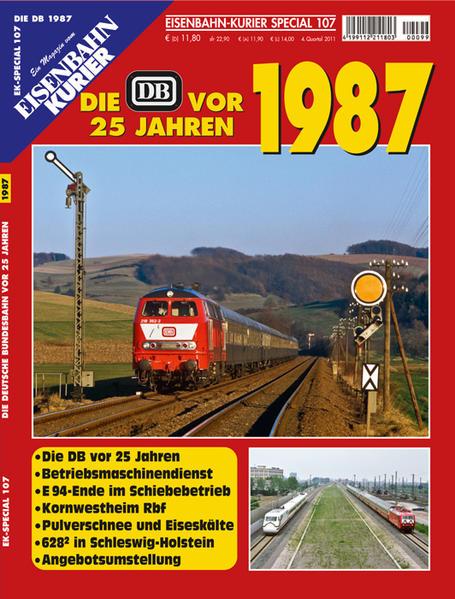 Die DB vor 25 Jahren - 1987 - Coverbild