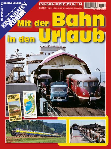 Mit der Bahn in den Urlaub - Coverbild