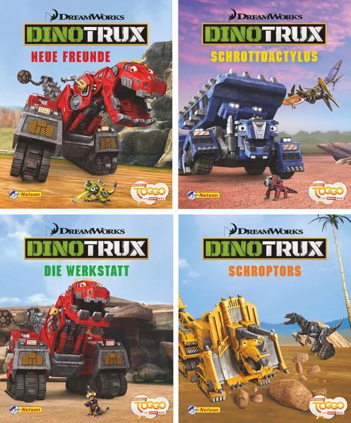 Nelson Mini-Bücher: Dreamworks Dinotrux 1-4 - Coverbild