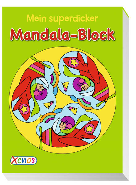 Mein superdicker Mandala-Block - Coverbild