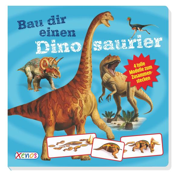 Bau dir einen Dinosaurier - Coverbild