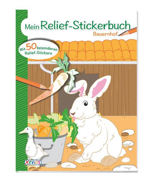 VE 5 Mein Relief-Stickerbuch: Bauernhof - Coverbild