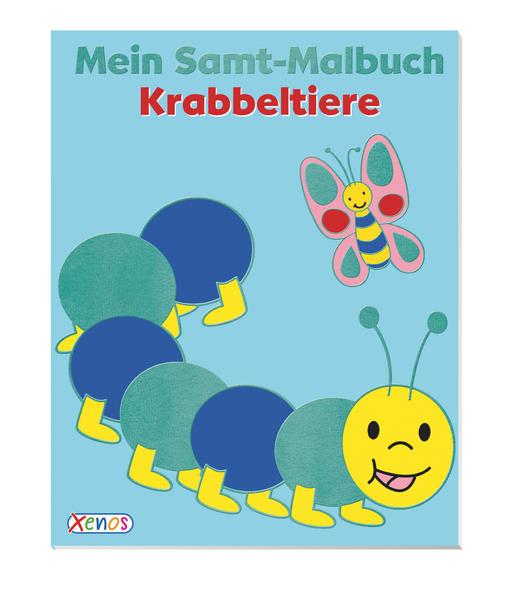 Mein Samt-Malbuch: Krabbeltiere - Coverbild