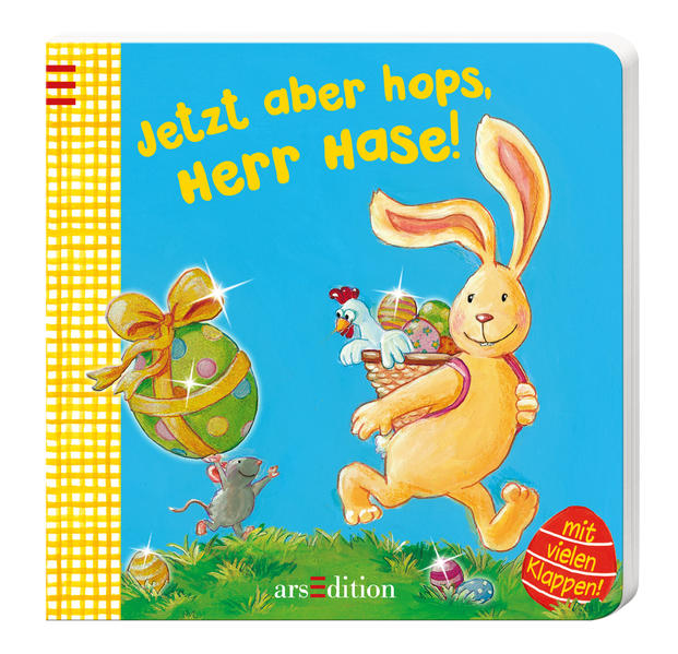 Jetzt aber hops, Herr Hase! - Coverbild